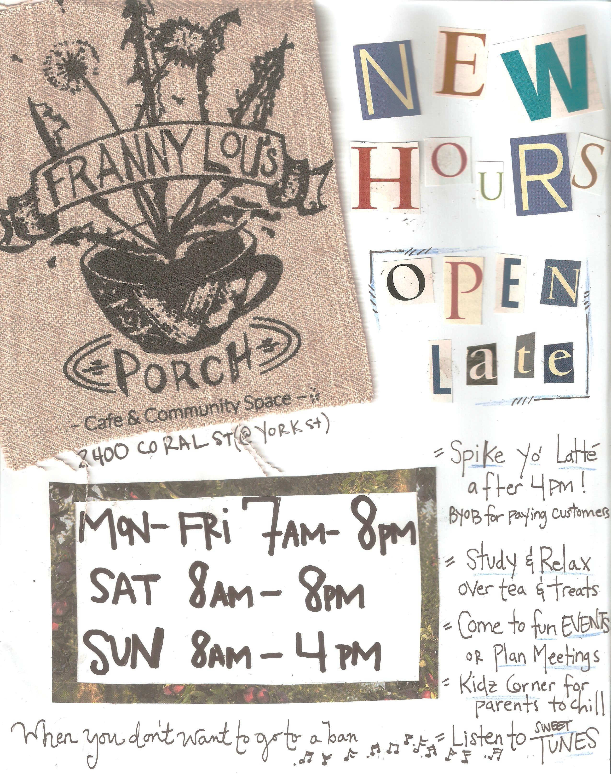 2016 New Fall hours 001